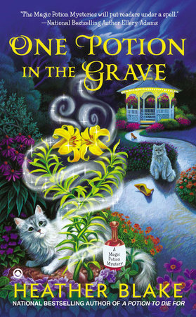 One Potion in the Grave by Heather Blake