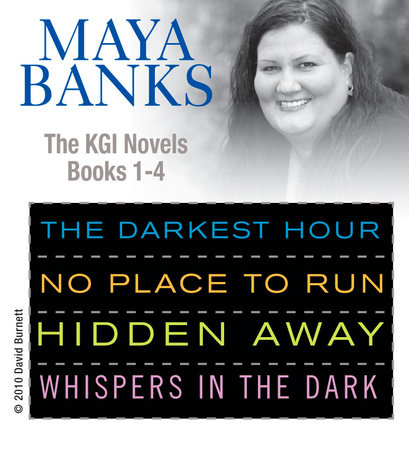 Maya Banks KGI series 1- 4 by Maya Banks