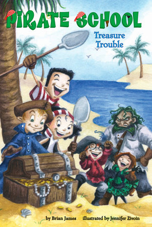 Treasure Trouble #5 by Brian James