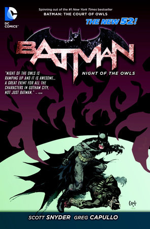 Batman: Night of the Owls (The New 52) by Scott Snyder and Various