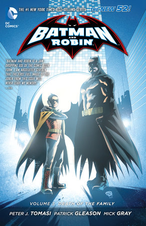 Batman and Robin Vol. 3: Death of the Family (The New 52) by Peter J. Tomasi