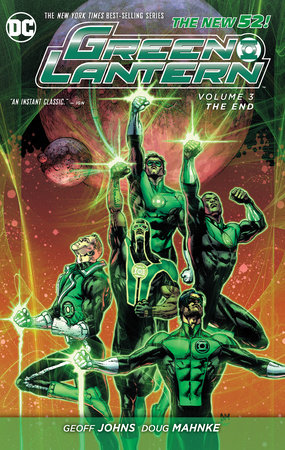 Green Lantern Vol. 3: The End (The New 52) by Geoff Johns