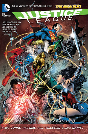 Justice League Vol. 3: Throne of Atlantis (The New 52) by Geoff Johns