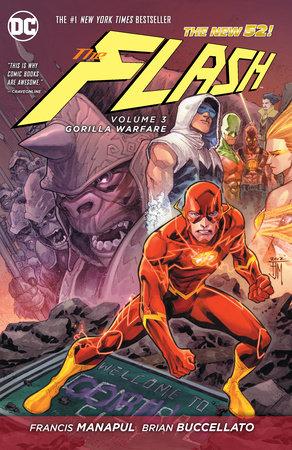 The Flash Vol. 3: Gorilla Warfare (The New 52) by Francis Manapul and Brian Buccellato