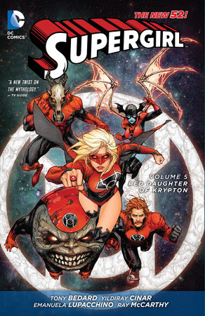 Supergirl Vol. 5: Red Daughter of Krypton (The New 52) by Michael Alan Nelson