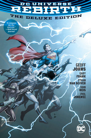 DC Universe: Rebirth Deluxe Edition by Geoff Johns