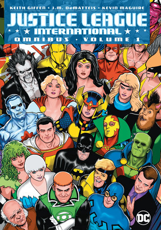 Justice League International Omnibus Vol. 1 by Keith Giffen and J.M. Dematteis