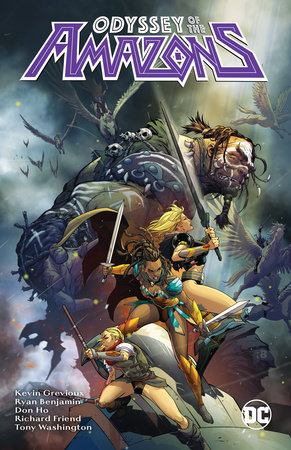 The Odyssey of the Amazons by Kevin Grevious