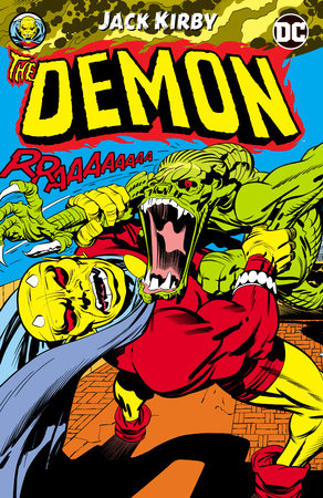 The Demon by Jack Kirby by Jack Kirby