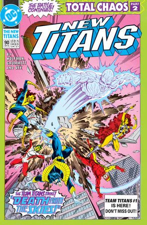 Titans: Total Chaos by Marv Wolfman