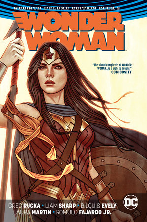 Wonder Woman: The Rebirth Deluxe Edition Book 2 by Greg Rucka