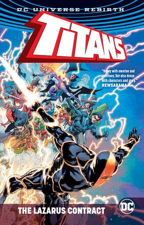 Titans: The Lazarus Contract by Christopher Priest and Dan Abnett