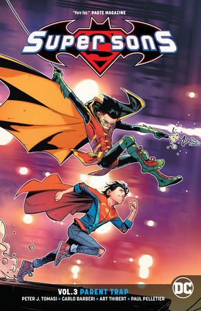 Super Sons Vol. 3: Parent Trap by Peter J. Tomasi