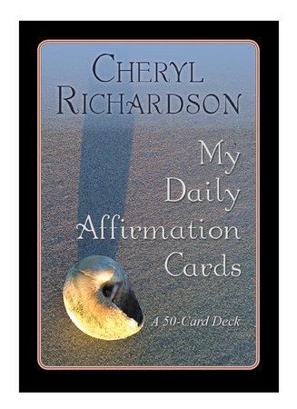 My Daily Affirmation Cards by Cheryl Richardson