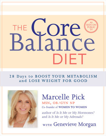 The Core Balance Diet by Marcelle Pick, MSN, OBGYN, NP