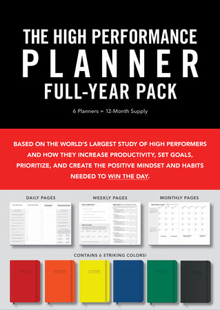 High Performance Planner Full-Year Pack by Brendon Burchard