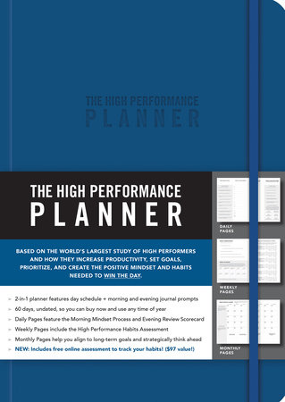 The High Performance Planner [Blue] by Brendon Burchard