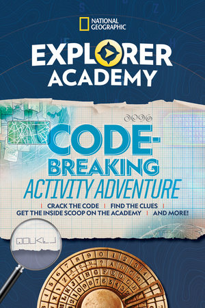 Explorer Academy Codebreaking Activity Adventure by National Geographic, Kids