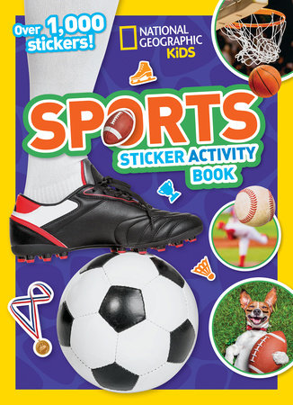 Sports Sticker Activity Book by National Geographic, Kids