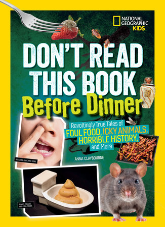 Don't Read This Book Before Dinner by Anna Claybourne