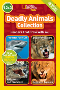 National Geographic Readers: Deadly Animals Collection