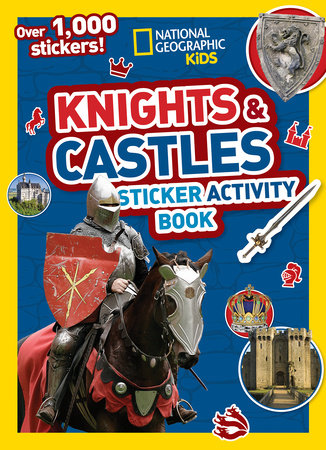 Knights and Castles Sticker Activity Book by National Geographic, Kids