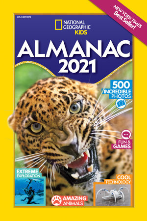National Geographic Kids Almanac 2021, U.S. Edition by National Geographic, Kids
