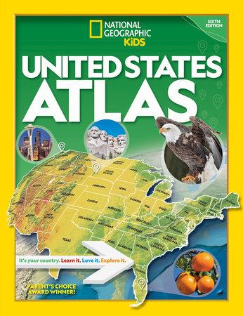 National Geographic Kids U.S. Atlas 2020, 6th Edition by National Geographic, Kids
