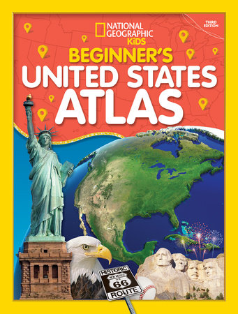 Beginner's U.S. Atlas 2020, 3rd Edition by National Geographic, Kids