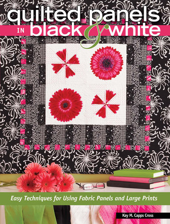 Quilted Panels in Black and White by Kay Capps Cross