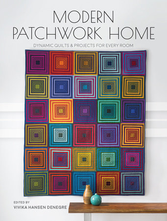Modern Patchwork Home by
