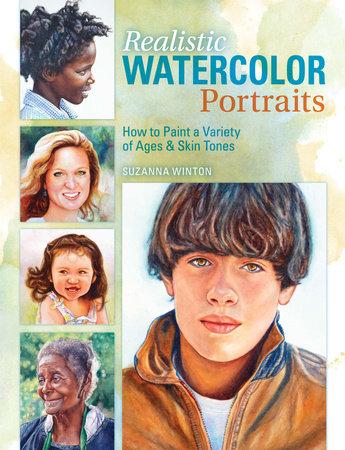 Realistic Watercolor Portraits by Suzanna Winton