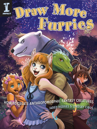 Draw More Furries by Jared Hodges and Lindsay Cibos-Hodges