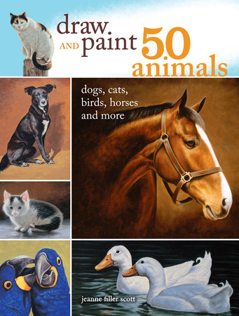 Draw and Paint 50 Animals by Jeanne Filler Scott