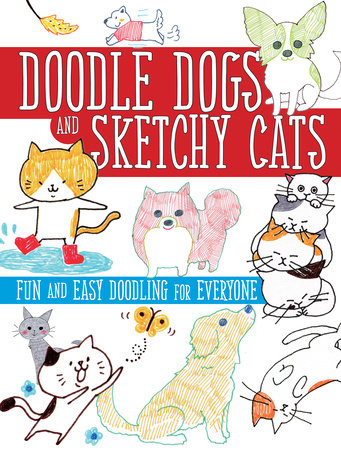 Doodle Dogs and Sketchy Cats by Sha Boutique