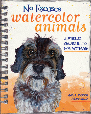 No Excuses Watercolor Animals by Gina Rossi Armfield
