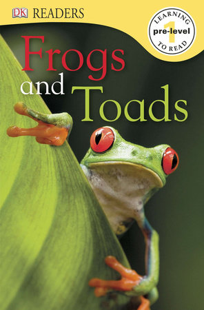 DK Readers L0: Frogs & Toads by Camilla Gersh and DK