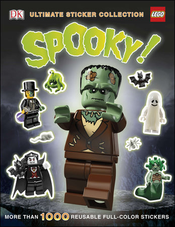 Ultimate Sticker Collection: LEGO Spooky! by DK