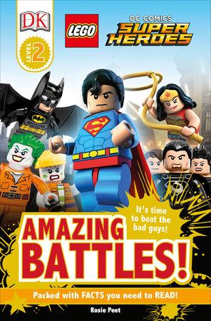 DK Readers L2: LEGO® DC Comics Super Heroes: Amazing Battles! by DK
