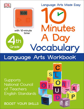 10 Minutes a Day: Vocabulary, Fourth Grade by DK