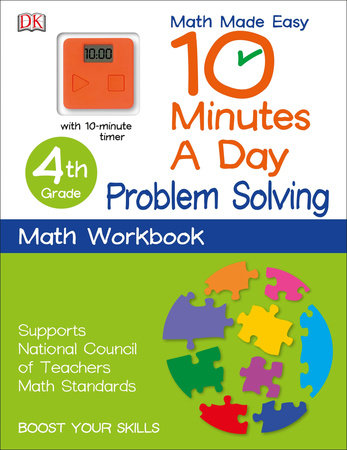 10 Minutes a Day: Problem Solving, Fourth Grade by DK