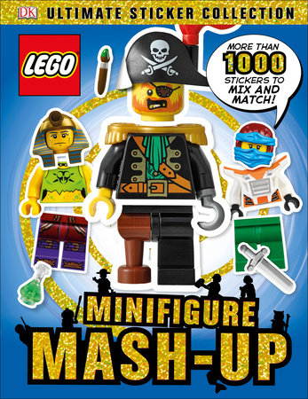 Ultimate Sticker Collection: LEGO Minifigure: Mash-up! by DK