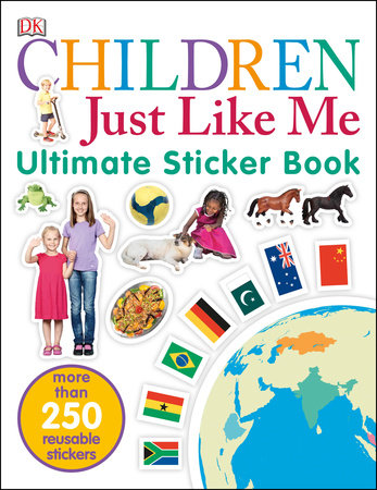 Ultimate Sticker Book: Children Just Like Me by DK