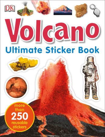Ultimate Sticker Book: Volcano by DK