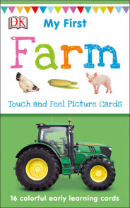 My First Touch and Feel Picture Cards: Farm