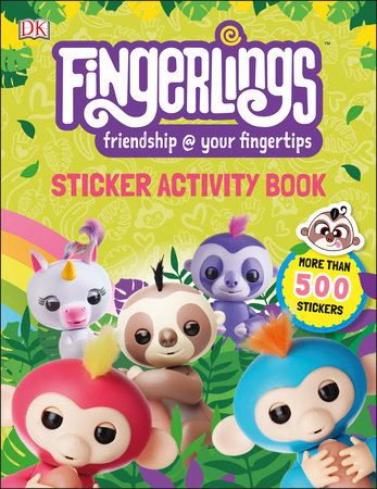 Fingerlings Sticker Activity Book by DK