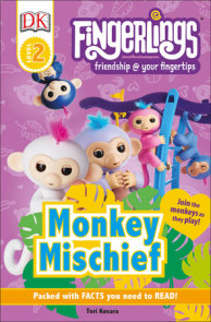 DK Readers Level 2: Fingerlings: Monkey Mischief