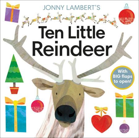 Jonny Lambert's Ten Little Reindeer by Jonny Lambert