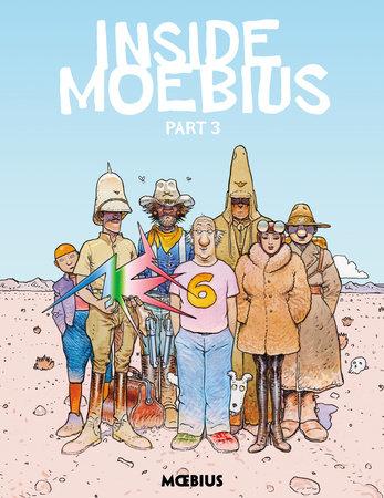 Moebius Library: Inside Moebius Part 3 by Jean Giraud