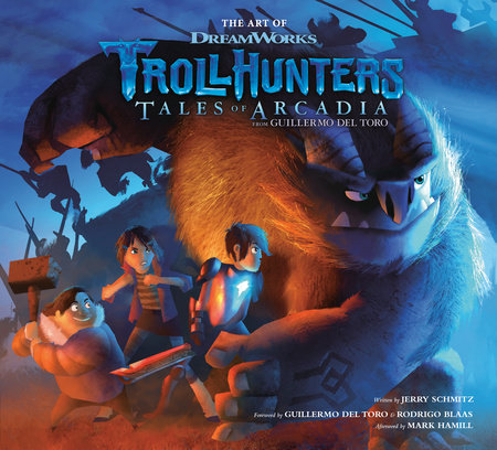 The Art of Trollhunters by Dreamworks